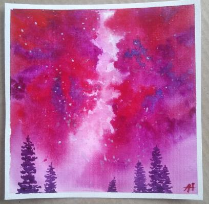 Alina Nesterova. Starry sky Alternative