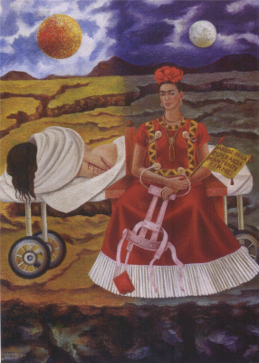 Frida Kahlo. Tree of hope, stand up straight!