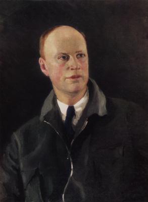 Igor Grabar. Portrait of composer Prokofiev