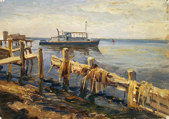 Нариман Аликович Рахимбаев. Аральское море