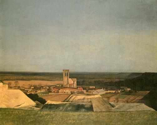 Balthus (Balthasar Klossovsky de Rola). Landscape
