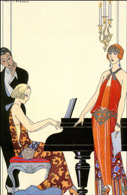 Georges Barbier. Spell