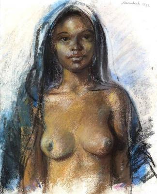 Zinaida Serebryakova. Moroccan girl. Marrakech