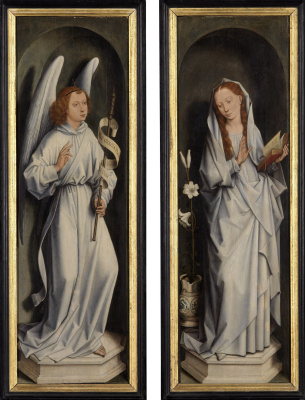 Hans Memling. The Annunciation