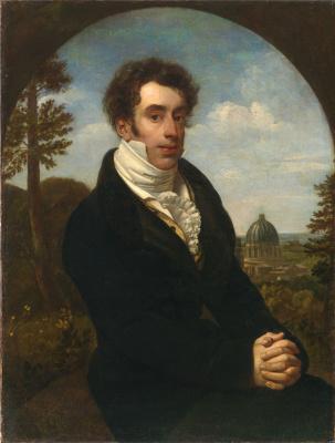 Orest Adamovich Kiprensky. Portrait of Prince A. M. Golitsyn