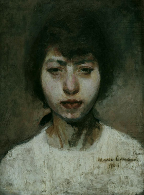 Мари Лорансен. Автопортрет