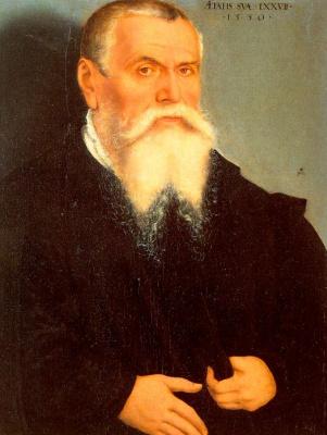 Lucas the Younger Cranach. Portrait Of Lucas