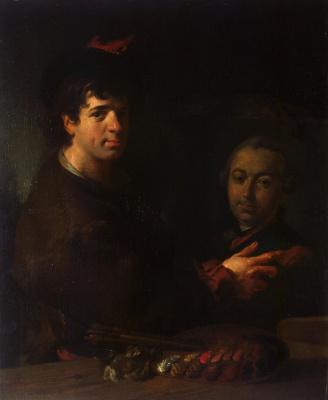 Жан Луи де Велли. Автопортрет