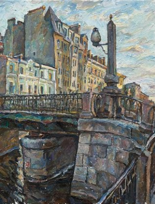 Leonid Valeryevich Stroganov. Griboyedov Canal
