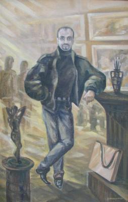 Ivan Vasilyevich Kovacs. The self-portrait art and eternity