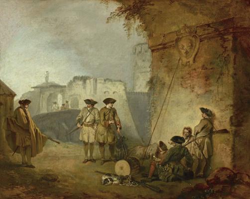 Antoine Watteau. Valenciennes Gate