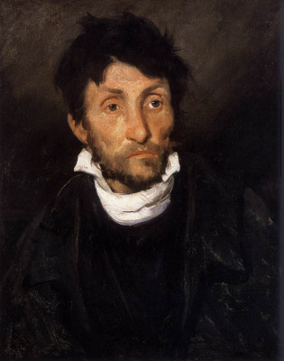 Théodore Géricault. Portrait of a Mad (Kleptoman)