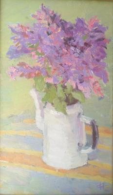 """Anna Valerievna Dolganova. """"Still Life with Lilac"""""""
