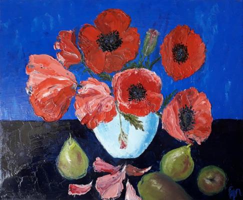 Ekaterina Tokareva. Poppies