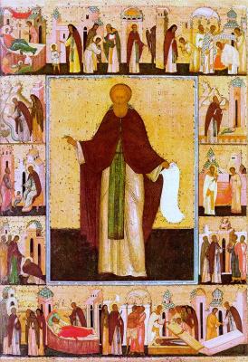 Иконопись. Сергий Радонежский