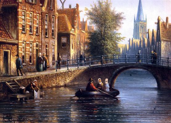 Йоханнес Спохлер. Мост