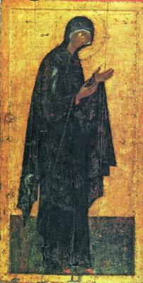 Theophanes Greek. The virgin