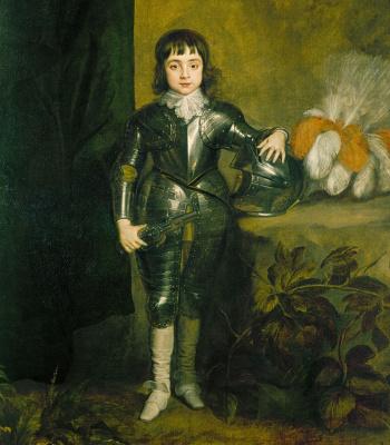 Антонис ван Дейк. Портрет принца Уэльского, будущего короля Карла II