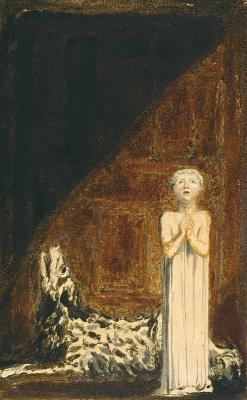 Уильям Блейк. Первая книга Уризена. Молящийся ребенок и воющая собака