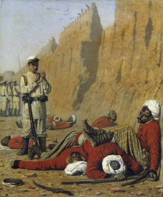 Vasily Vasilyevich Vereshchagin. After the failure