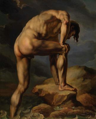 Théodore Géricault. After shipwreck