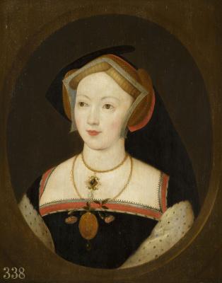 Remigius van Lemput. Portrait of a lady, probably Mary Boleyn