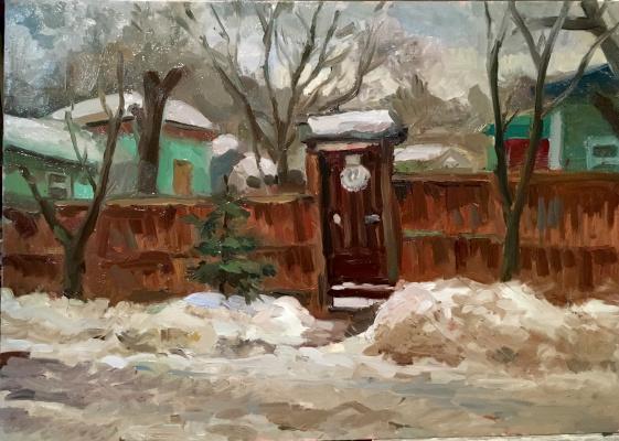 Serge katkov. Winter sketch