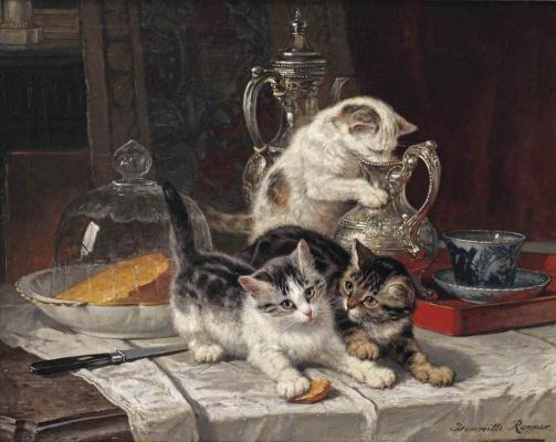 Генриетта Роннер-Книп. Время чая