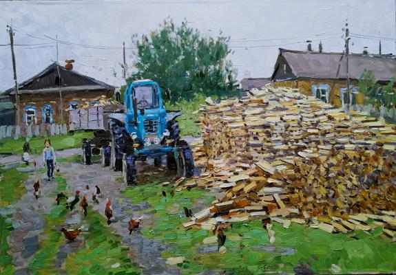 Василий Васильевич Куракса. Country Yard