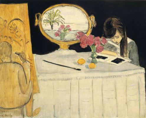Henri Matisse. Art lesson