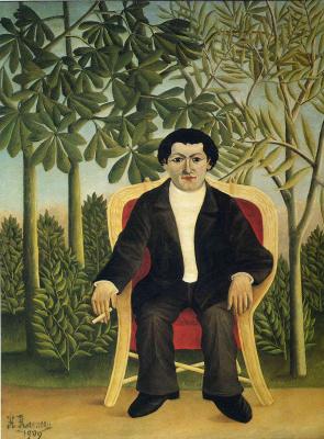 Henri Rousseau. Portrait Of Joseph Brummer