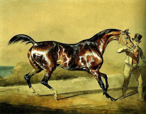 Théodore Géricault. Horse training