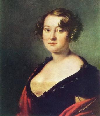 Orest Adamovich Kiprensky. Portrait of Princess N. P. Golitsyna
