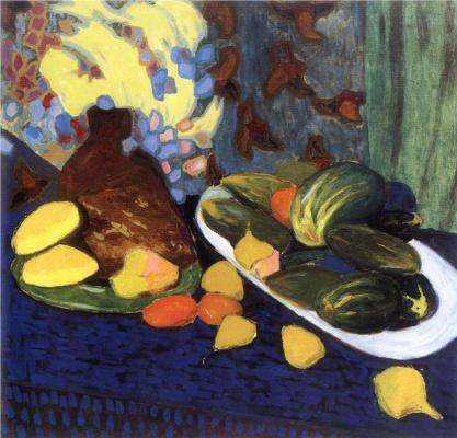 Александр Константинович Богомазов. Натюрморт с овощами и фруктами