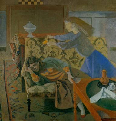 Balthus (Balthasar Klossovsky de Rola). Sleep