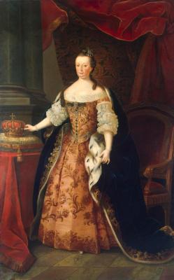 Мигел Антониу ду Амарал. Portrait of Marianne Victoria, Queen of Portugal