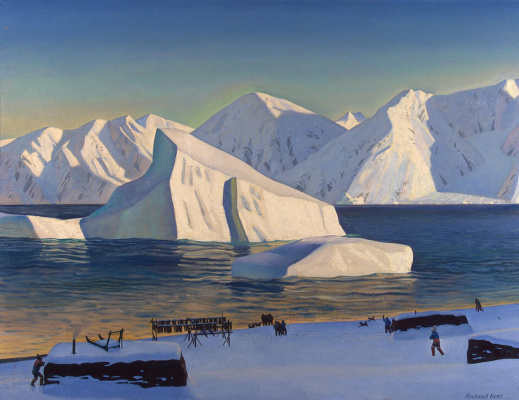 Rockwell Kent. The beginning of November. North Greenland