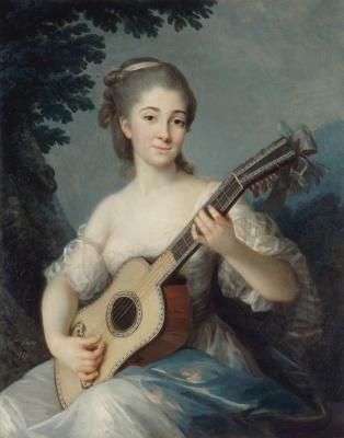 Elizabeth Vigee Le Brun. Portrait of Marie-Louise de Robien
