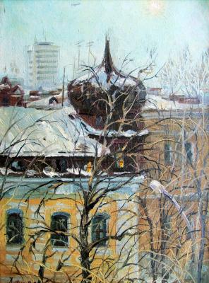 Konstantin Leonidovich Antipov. City landscape