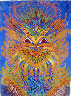 Louis Wain. Cat Kaleidoscope VI