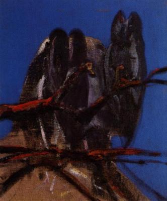 Francis Bacon. Owls