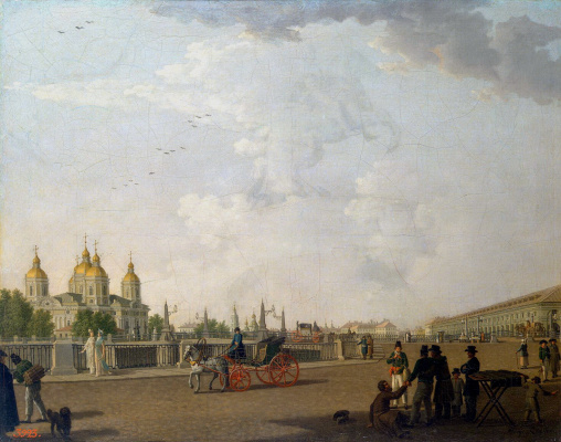 Benjamin Patersen. View of St. Nicholas Cathedral