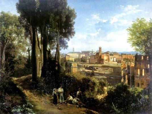 Sylvester Feodosievich Shchedrin. Old Rome