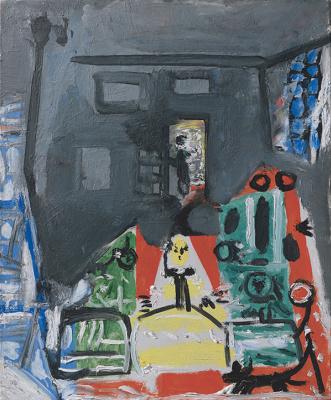 Pablo Picasso. Las Meninas. Interpretation No. 14