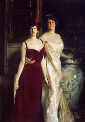 John Singer Sargent. Ena and Betty, daughters of Asher and Mrs. Wertheimer
