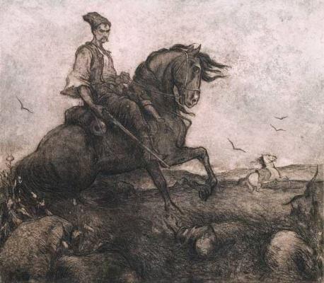 Mikhail Gordeevich Deregus. The Duma about Cossack Golota