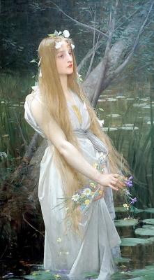 Жюль Жозеф Лефевр. Офелия. 1890