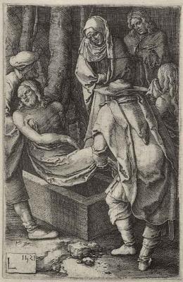 Лукас ван Лейден (Лука Лейденский). Положение во гроб