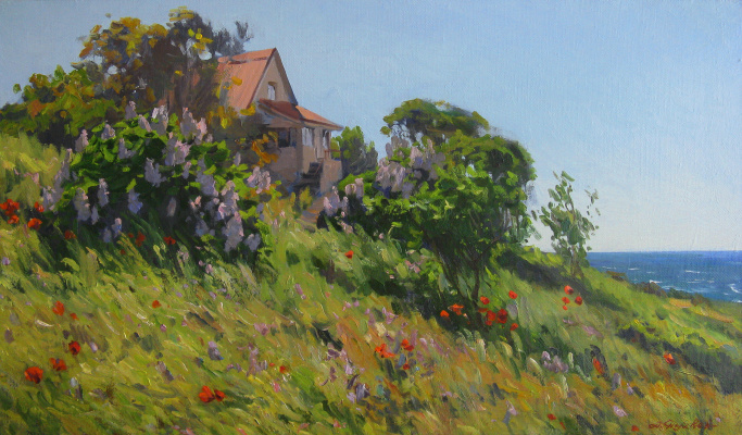 "Artem Yurievich Puchkov. ""Cottage by the sea."""