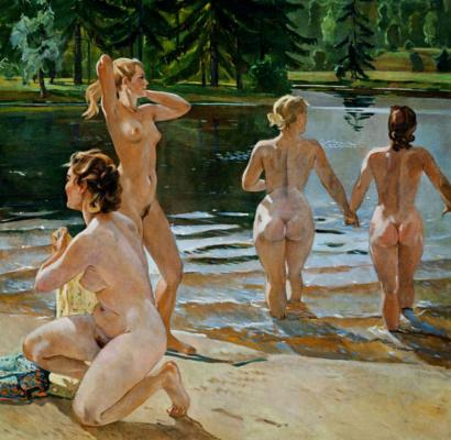 Alexander Alexandrovich Deineka. Bathers